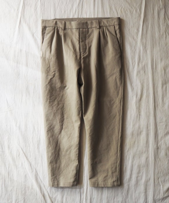 Double Cloth Easy Pants