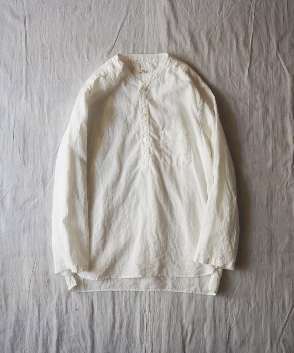 ハイカウントリネンスリーピングシャツ