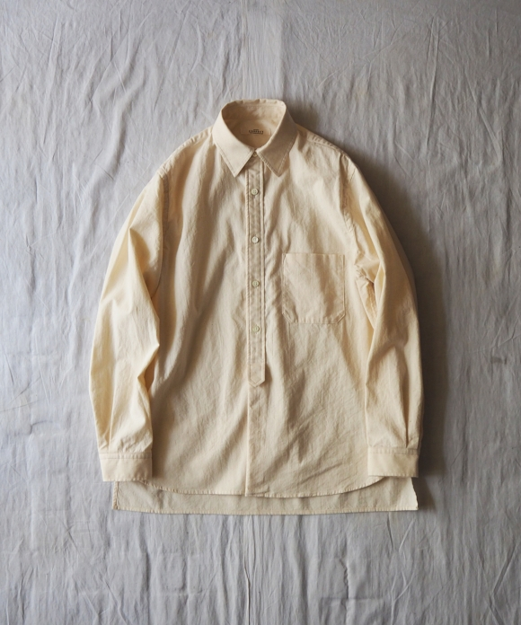 シーチングレギュラーカラーシャツ