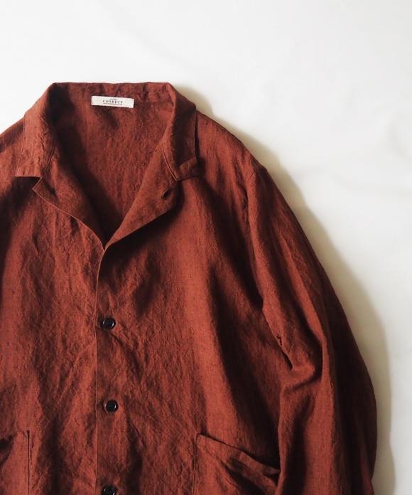 リネンカバーシャツ