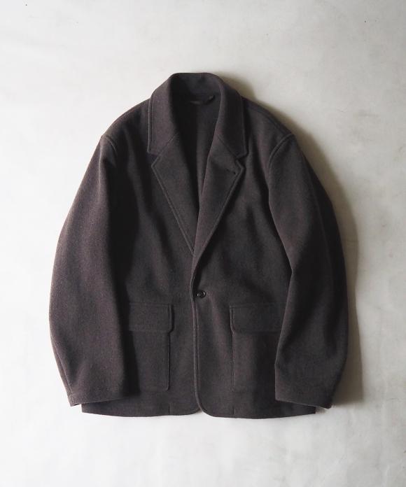 ウールカシミヤフリースイージージャケット