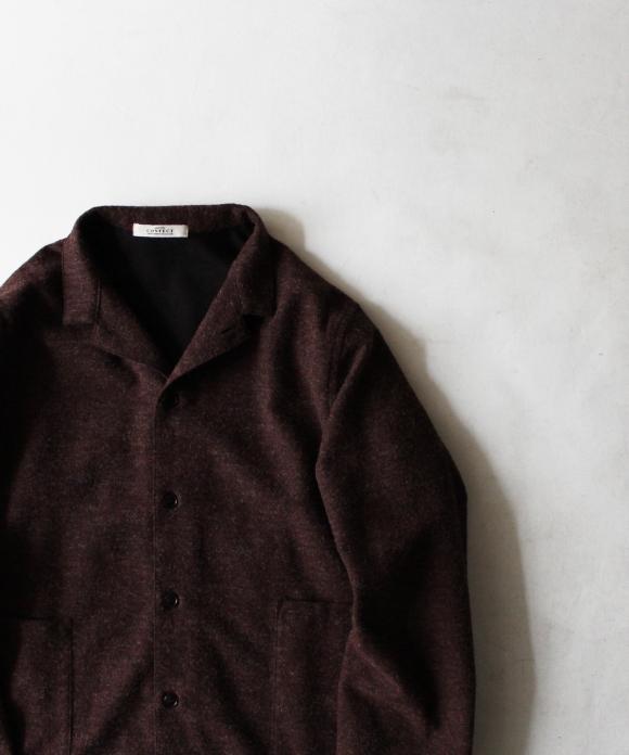 コットンウールカバーシャツ