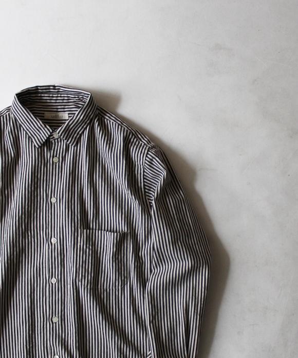 ロンドンストライプレギュラーカラーシャツ