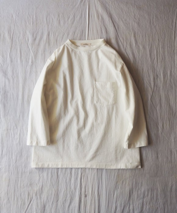 Heavy Weight Cotton Tube Quarter Sleeve Tee