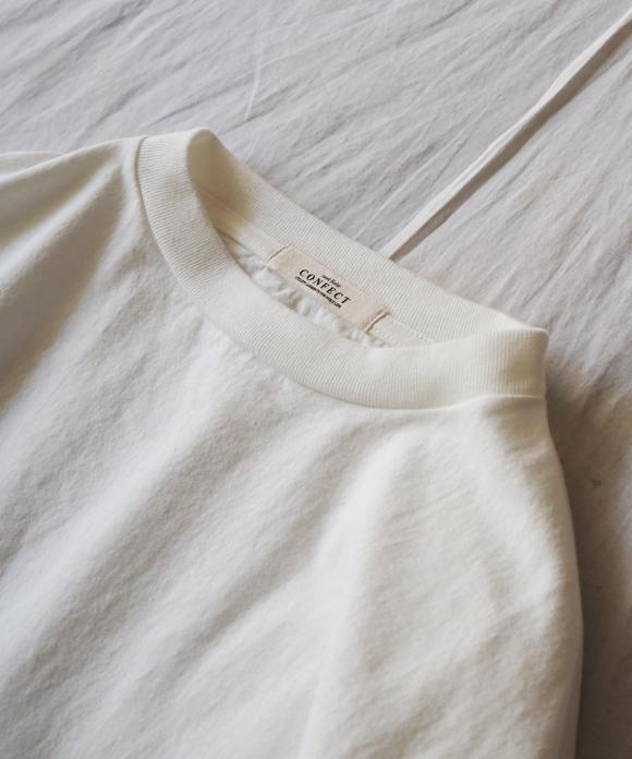 丸胴ヘビー天竺7分袖Tシャツ