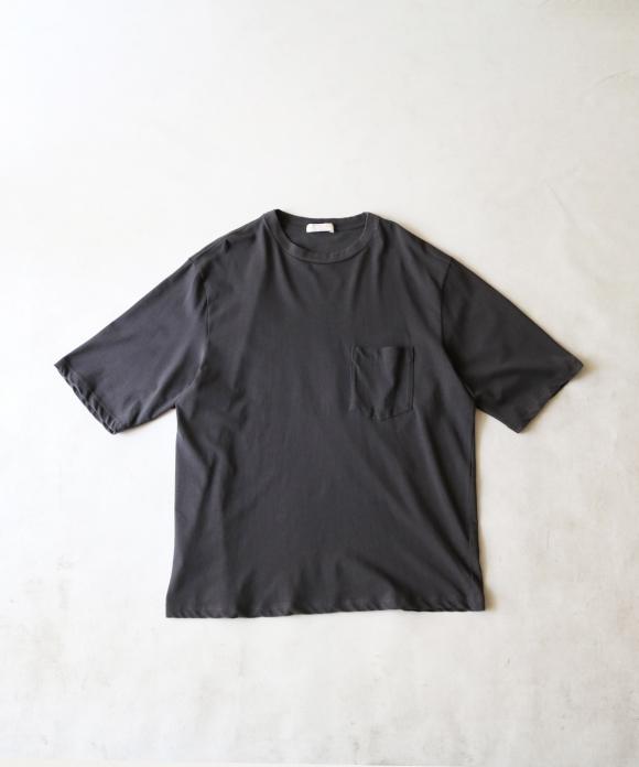 強撚天竺クルーネックTシャツ
