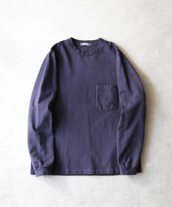 【UpcycleLino】度詰ロングスリーブTシャツ ハンガー付き