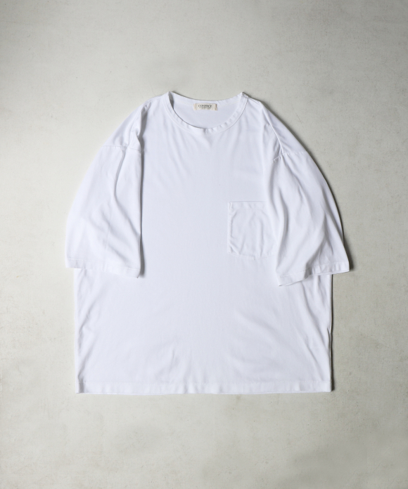スーピマポンチ クルーネックTシャツ
