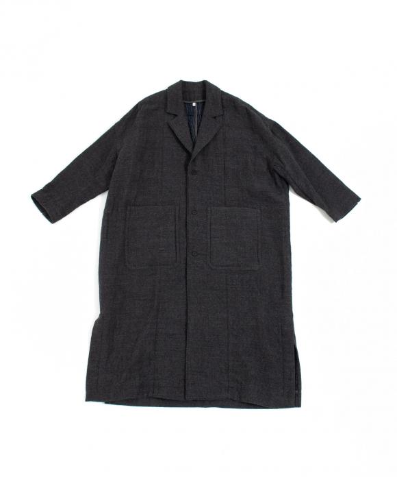 【FIRMUM】ドビー二重織りコート