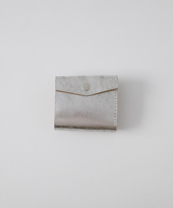 【MASTER & Co.】別注シルバーミニ財布