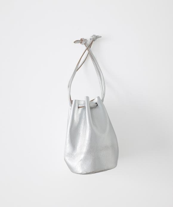 【MASTER & Co.】シルバー巾着BAG