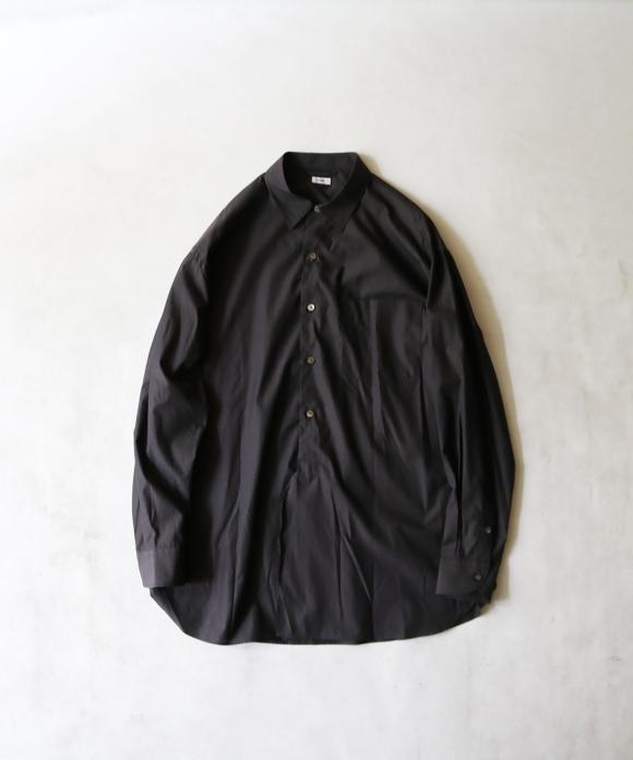 blurhms / ハイカウントシャンブレーシャツ